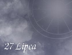 Horoskop 27 Lipiec
