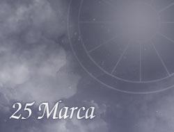 Horoskop 25 Marzec