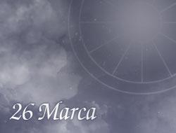 Horoskop 26 Marzec