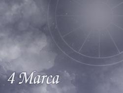 Horoskop 4 Marzec
