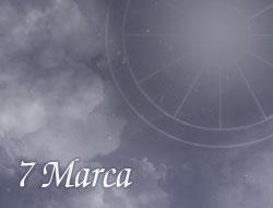 Horoskop 7 Marzec